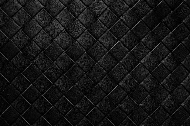 Weven lederen textuur patroon achtergrond