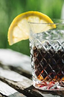 Whiskey en cola