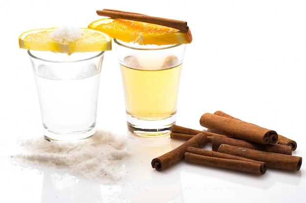 Whisky en tequila