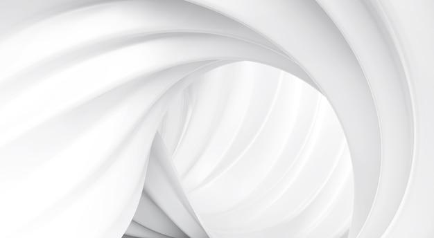 White wave spiraal achtergrond