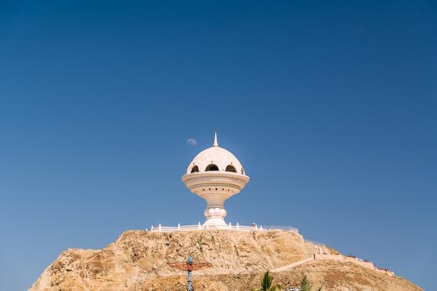 Wierookbrander landmark in muscat