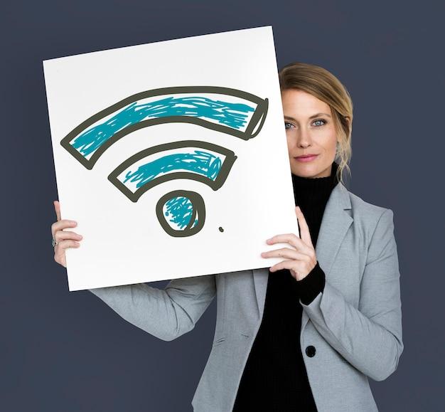 Wifi signaal internet draadloze verbinding