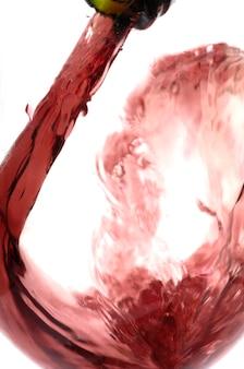 Wijn in het glas