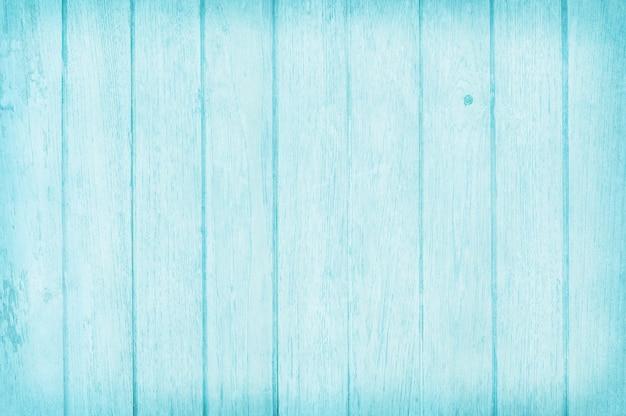 Wijnoogst geschilderde houten muurachtergrond, textuur van blauwe pastelkleur met natuurlijke patronen voor kunstwerk.