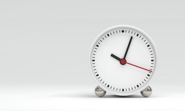 Wijzerplaat met uur minuten en seconden handen