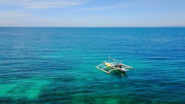 Wind lucht blauwe horizon vakantie