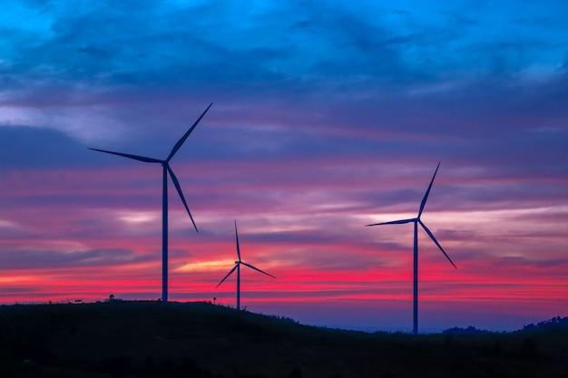 Windenergie molens