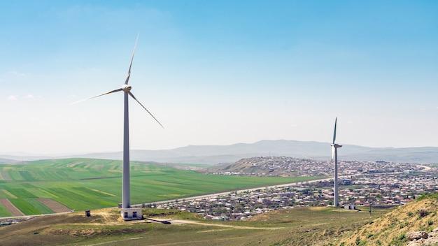 Windenergiegenerator, alternatieve energiebron