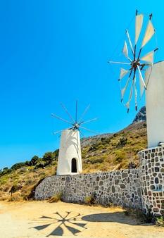 Windmolens in griekenland