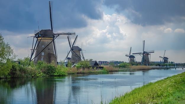 Windturbine boerderij