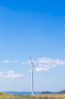 Windturbine voor stroomopwekking