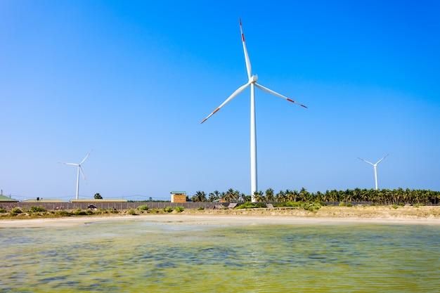 Windturbines kalpitiya, sri lanka