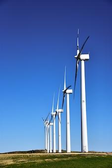 Windturbines voor elektriciteitsproductie