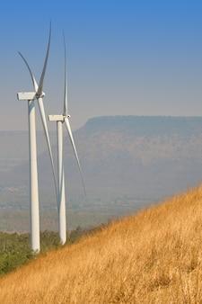 Windturbines zijn een alternatief voor elektriciteitsopwekking