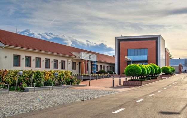 Wine culture center and winery in shabo, oekraïne