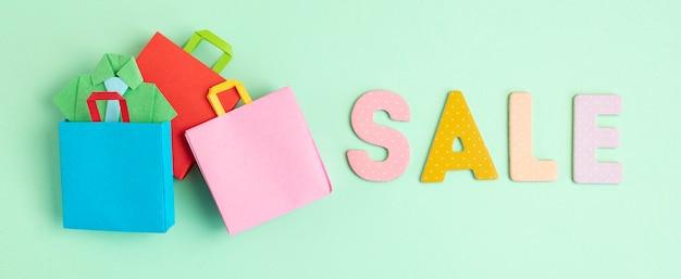 Winkelmandje vol met papieren zakken te koop, online deals