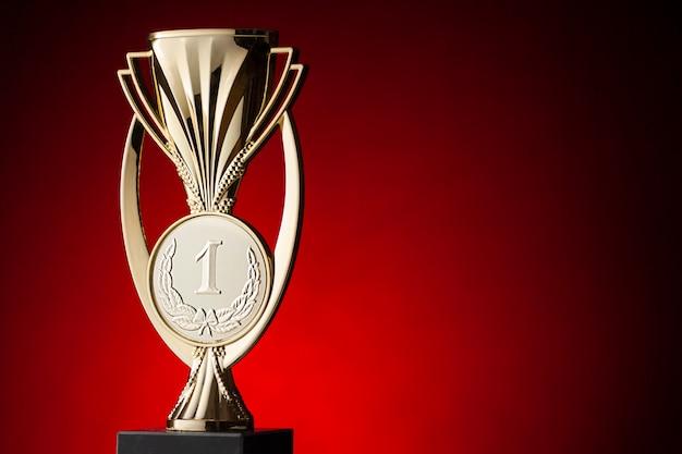 Winnaar trofee eerste plaats voor een wedstrijd