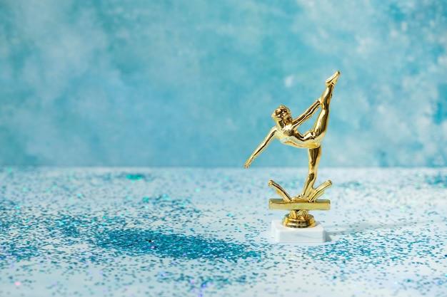 Winnaarconcept met ballerinaprijs