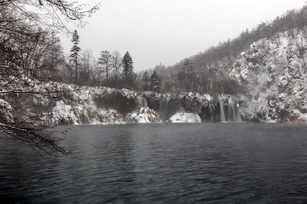 Winter plitvicemeren
