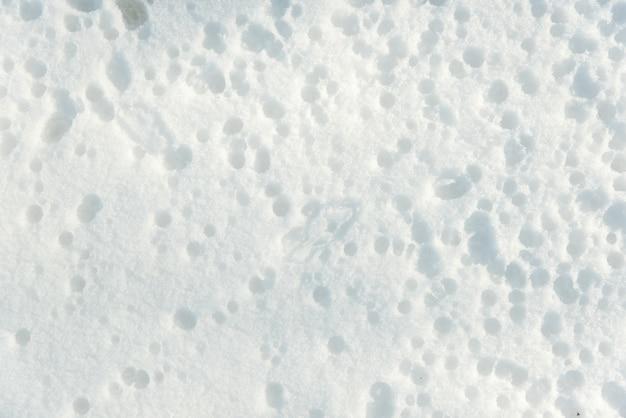 Winter textuur, sneeuw getextureerde achtergrond
