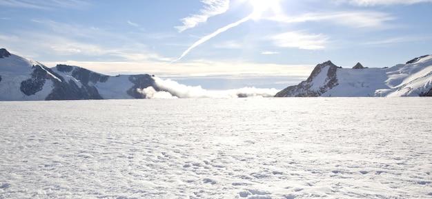 Winterlandschap panorama