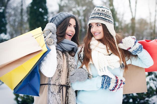 Winteruitverkoop is de beste tijd om te winkelen