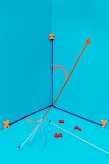 Wiskunde arrangement met verschillende tools