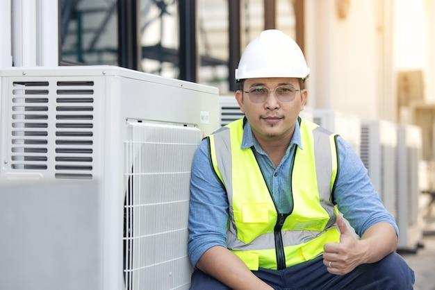 Wisselstroomtoestel vervangen door schone toestand te controleren