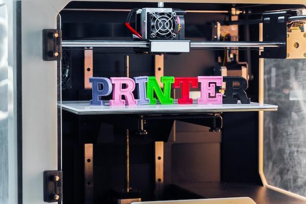 Wit 3d-drukwerk