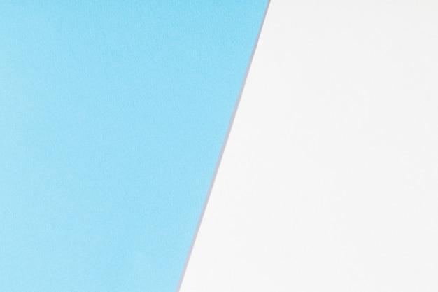 Wit en blauw papier achtergrond