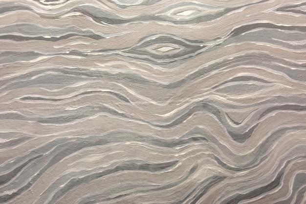 Wit en grijs abstract golfborstelpatroon