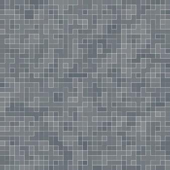 Wit en grijs de tegel muur hoge resolutie behang of baksteen naadloze en textuur interieur Premium Foto