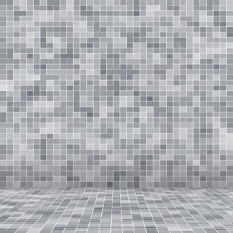 Wit en grijs de tegel muur hoge resolutie behang of baksteen naadloze en textuur interieur