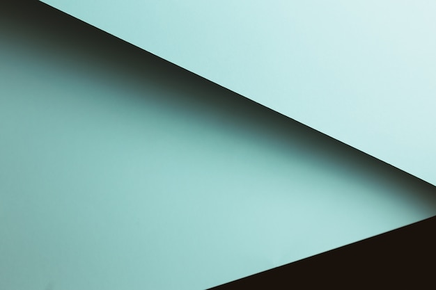 Wit en zwart plat lag achtergrond met scherpe lagen en schaduwen met kopie ruimte