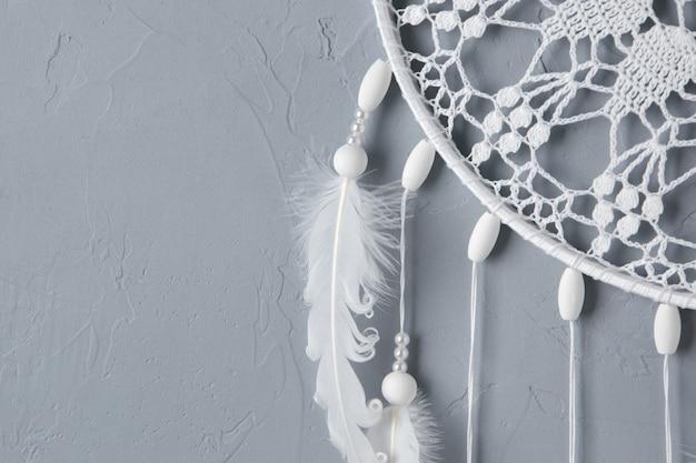 Wit gehaakt kleedje dromenvanger