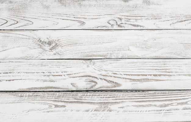 Wit geschilderde houten paneel achtergrond