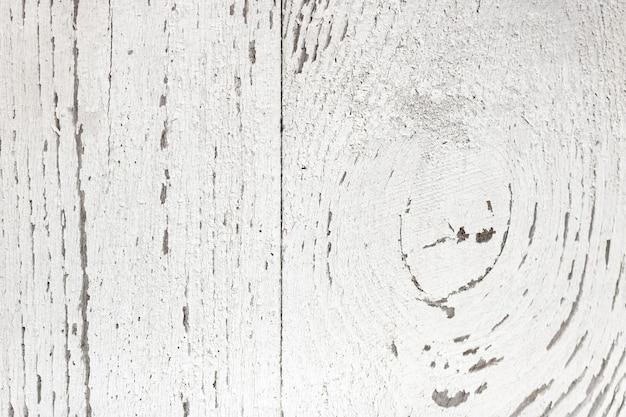 Wit geschilderde houten planken close-up