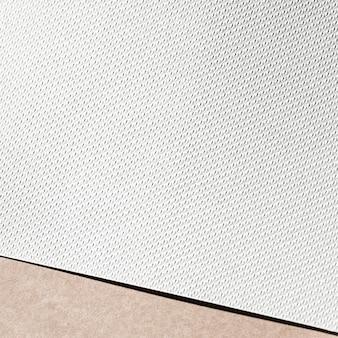 Wit gestructureerd karton