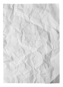 Wit gevouwen papier textuur