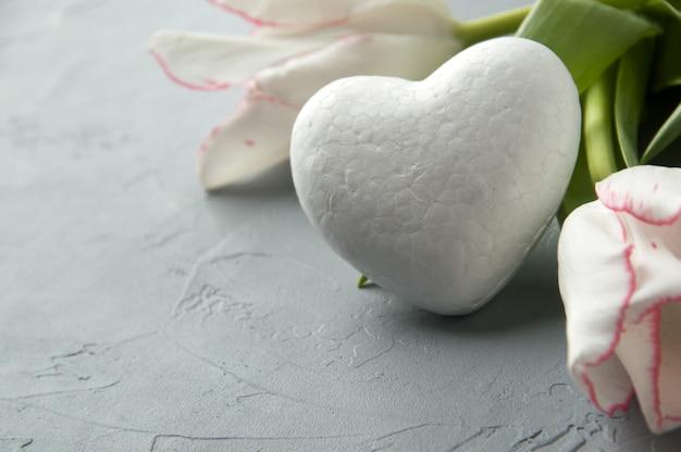 Wit hart