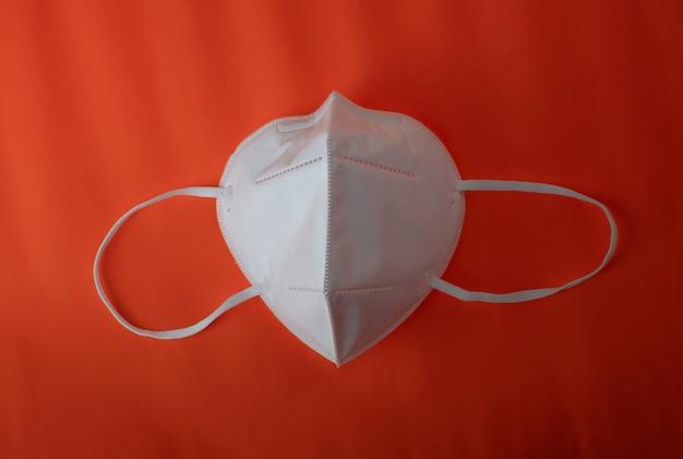 Wit medisch n95 masker gezichtsmasker