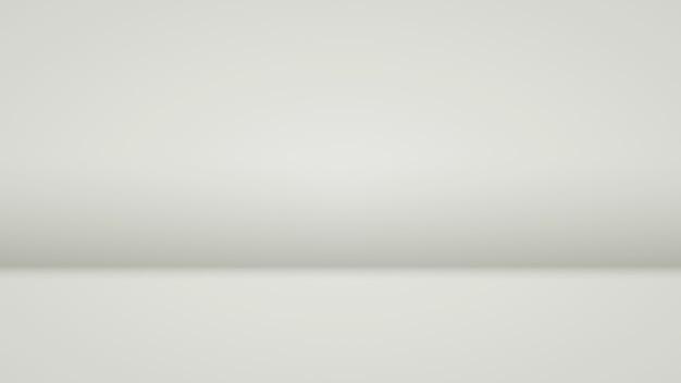 Wit met zachte verlichting op de muur en vloer