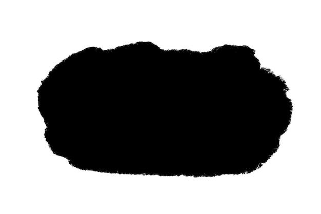 Wit papier met een gescheurd zwart venster. achtergrond voor ontwerp