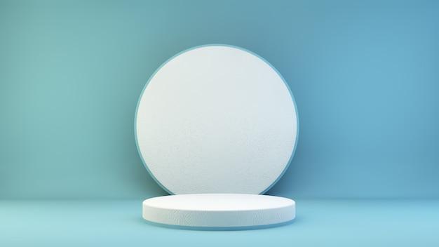 Wit platform voor productpresentatie