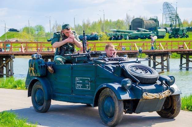 Wit-rusland, minsk. in het historische en culturele centrum