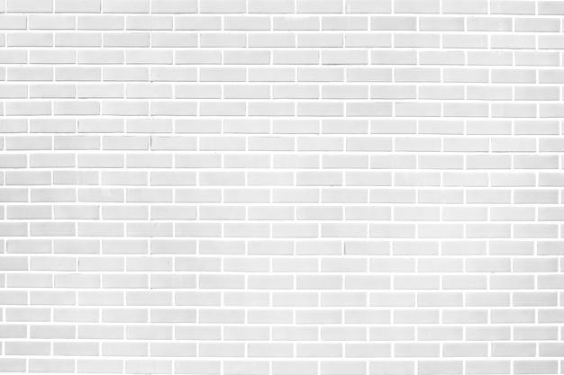 Wit van de bakstenen muurtextuur materiaal als achtergrond van de industriebouwconstructie. voor ontwerp