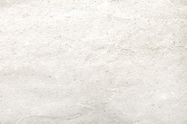 Wit verfrommeld document patroon en textuurachtergrond.