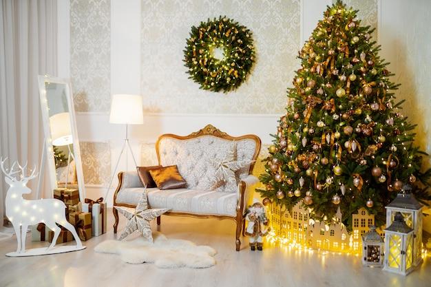 Witachtige kerstdecoraties