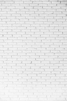 Witte baksteentexturen voor achtergrond