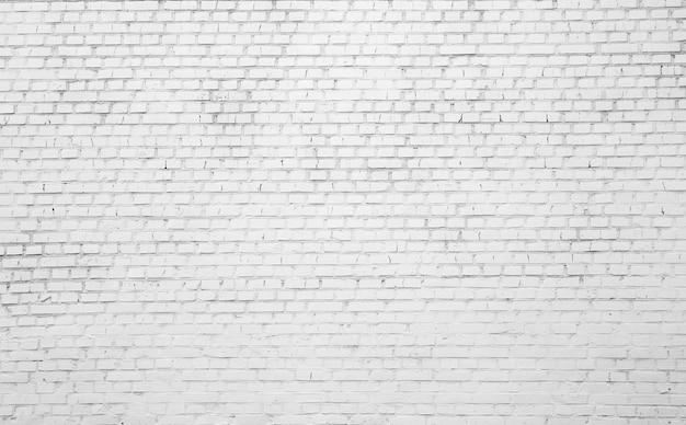 Witte bakstenen achtergrond
